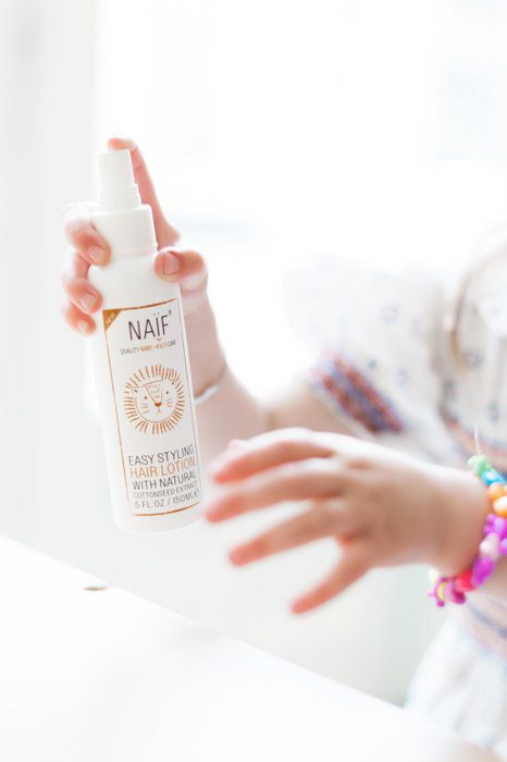 naif easy styling lotion
