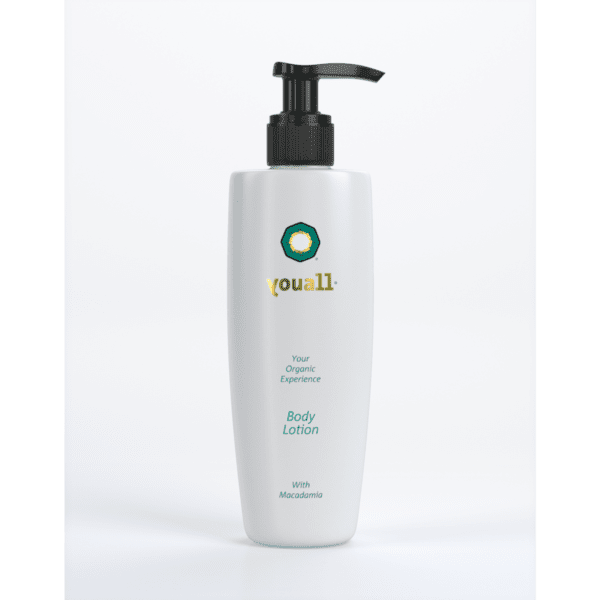 Body Lotion with Organic Macadamia